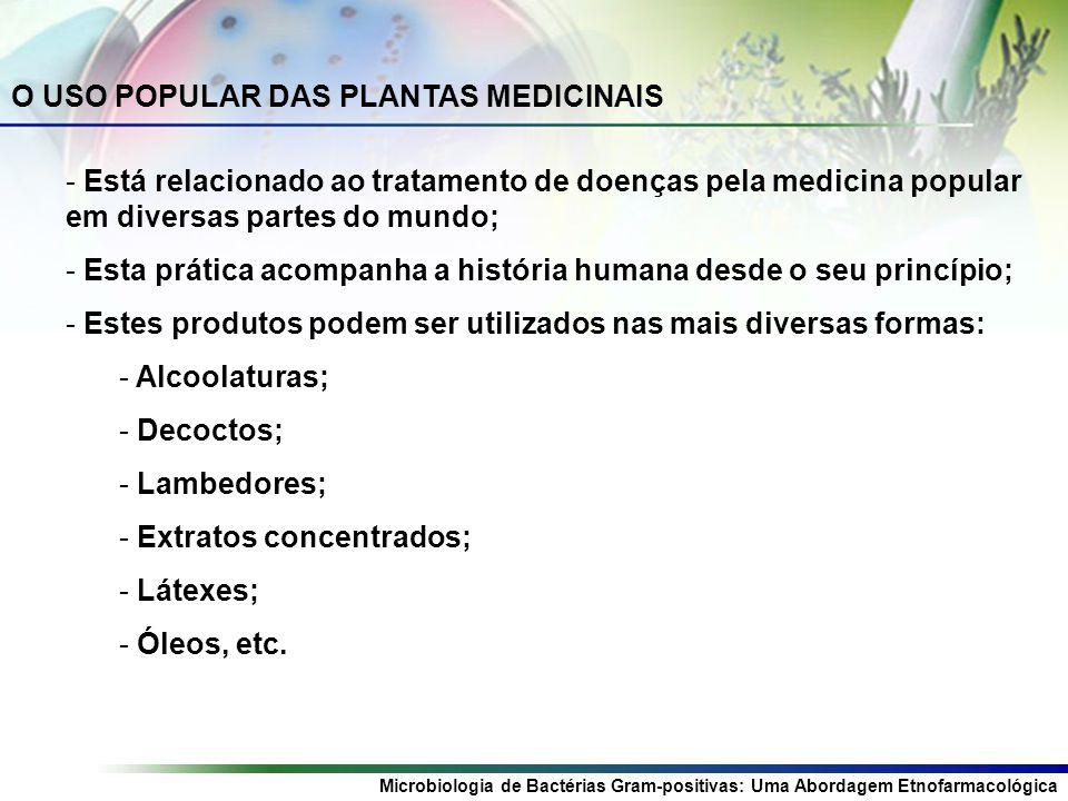 O USO POPULAR DAS PLANTAS MEDICINAIS