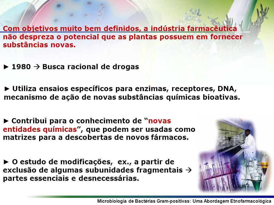 Com objetivos muito bem definidos, a indústria farmacêutica