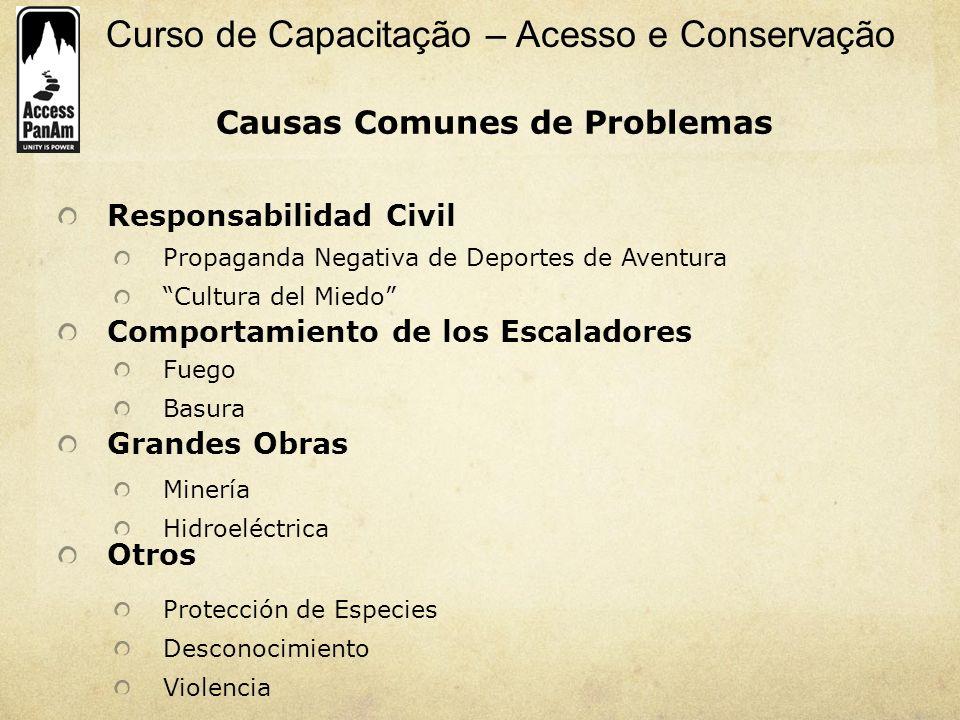 Causas Comunes de Problemas