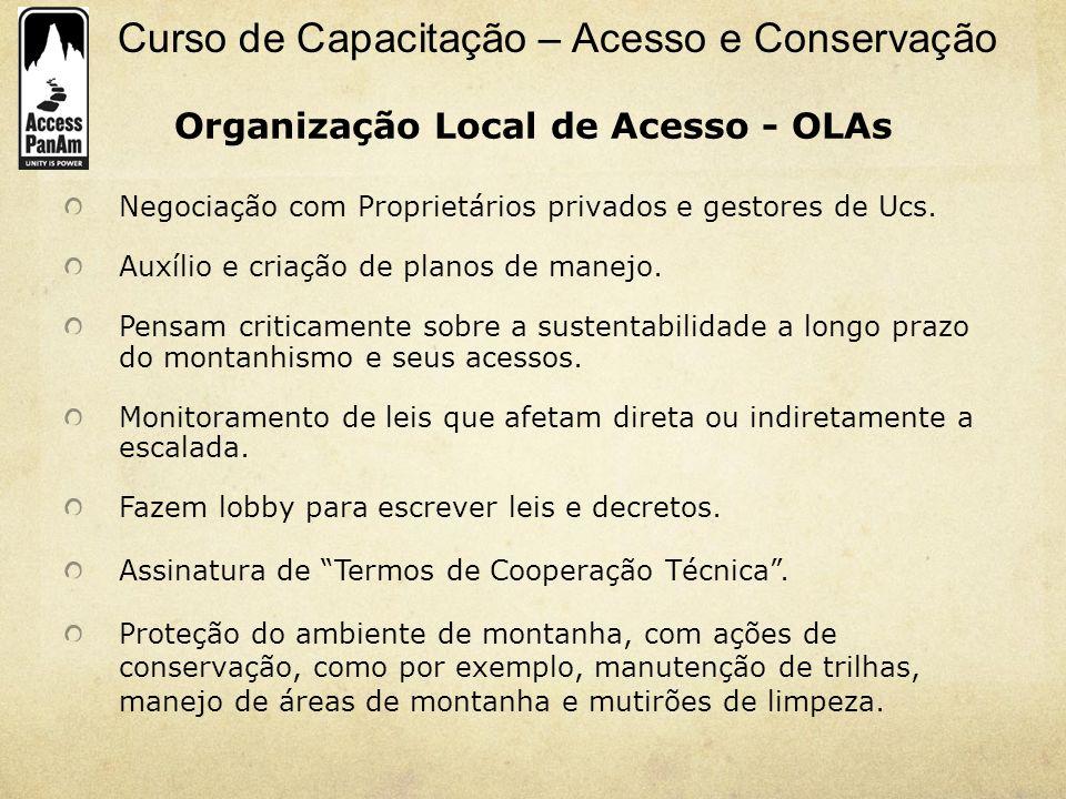 Organização Local de Acesso - OLAs