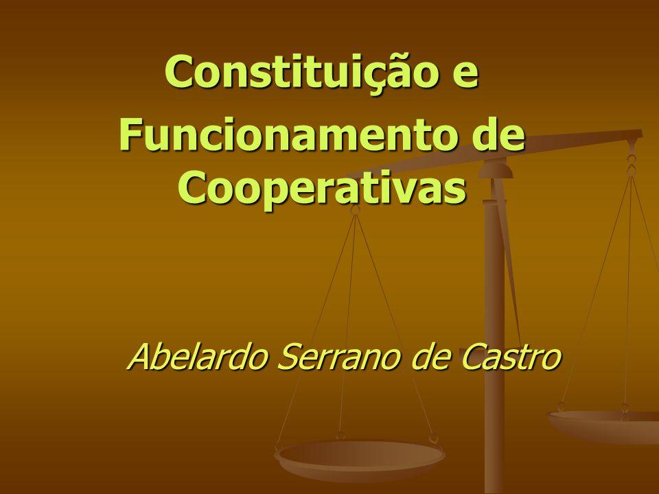 Constituição e Funcionamento de Cooperativas