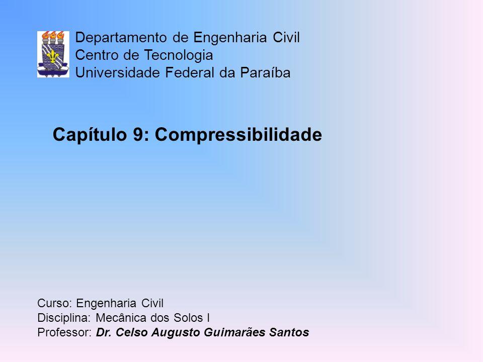Capítulo 9: Compressibilidade