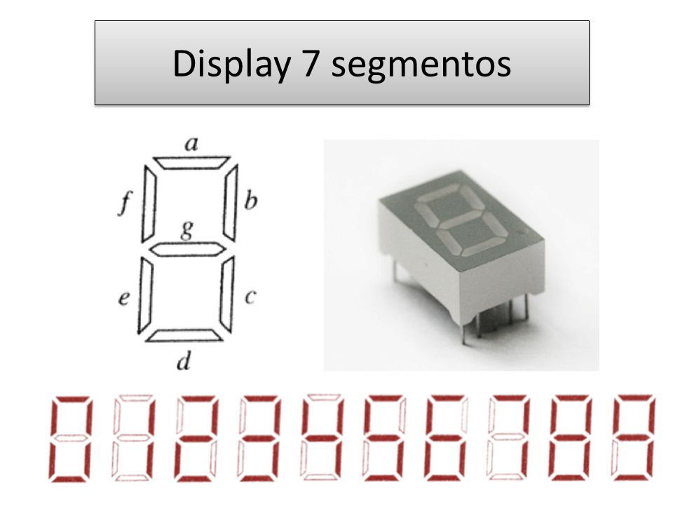 Display 7 segmentos