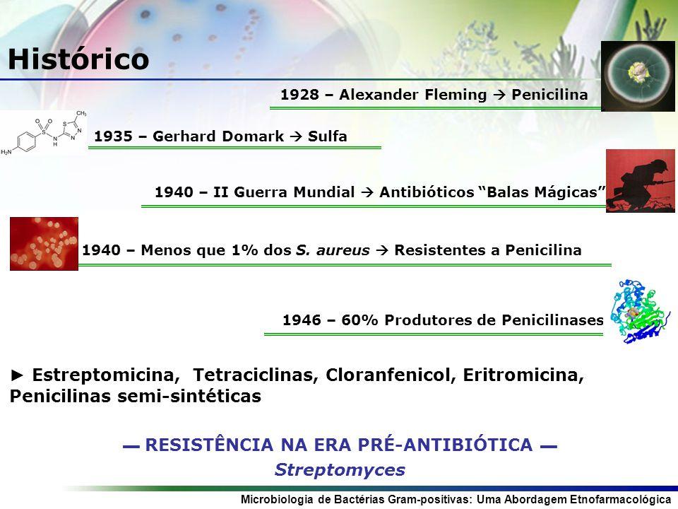 1940 – II Guerra Mundial  Antibióticos Balas Mágicas
