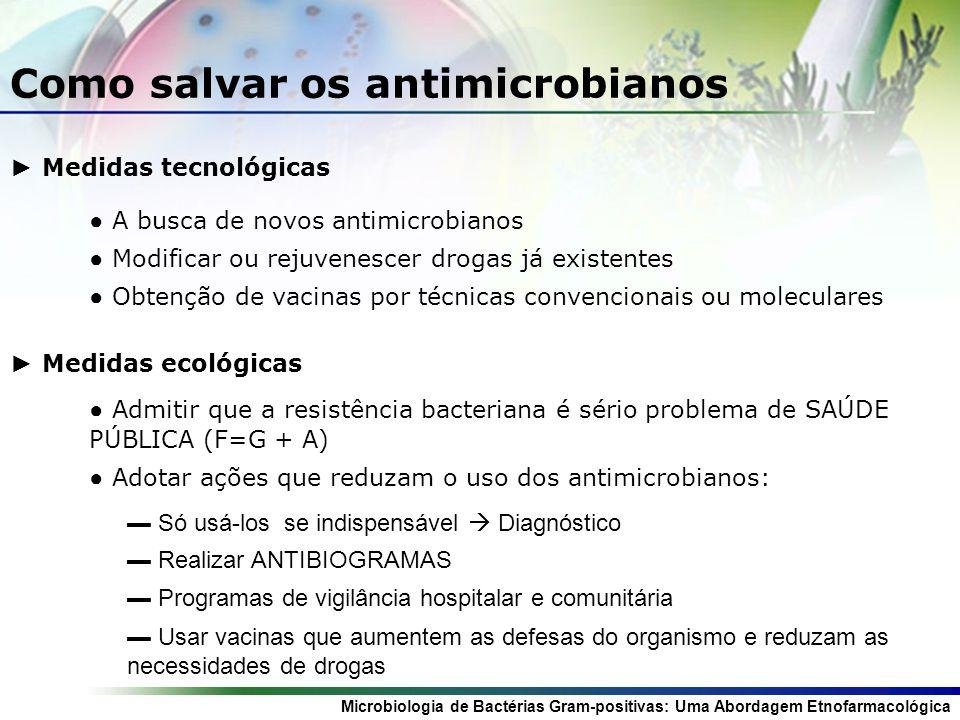 Como salvar os antimicrobianos