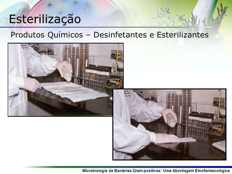 Esterilização Produtos Químicos – Desinfetantes e Esterilizantes