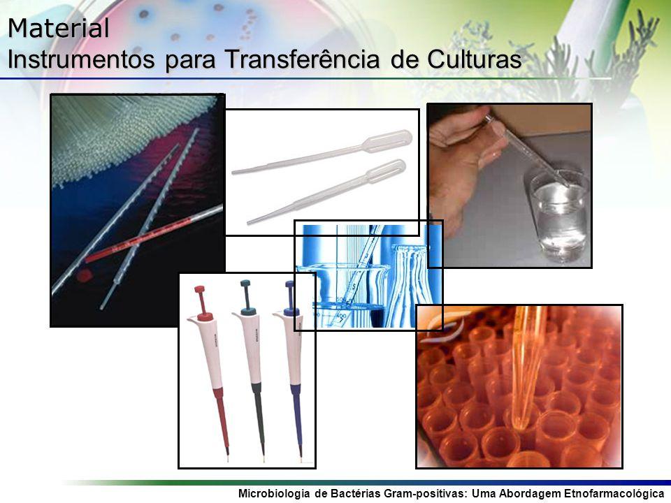 Material Instrumentos para Transferência de Culturas