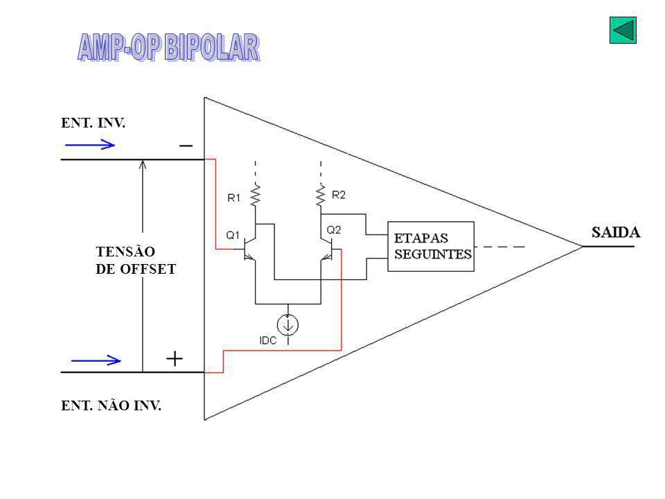 AMPLIF. OPERACIONAL AMP-OP BIPOLAR
