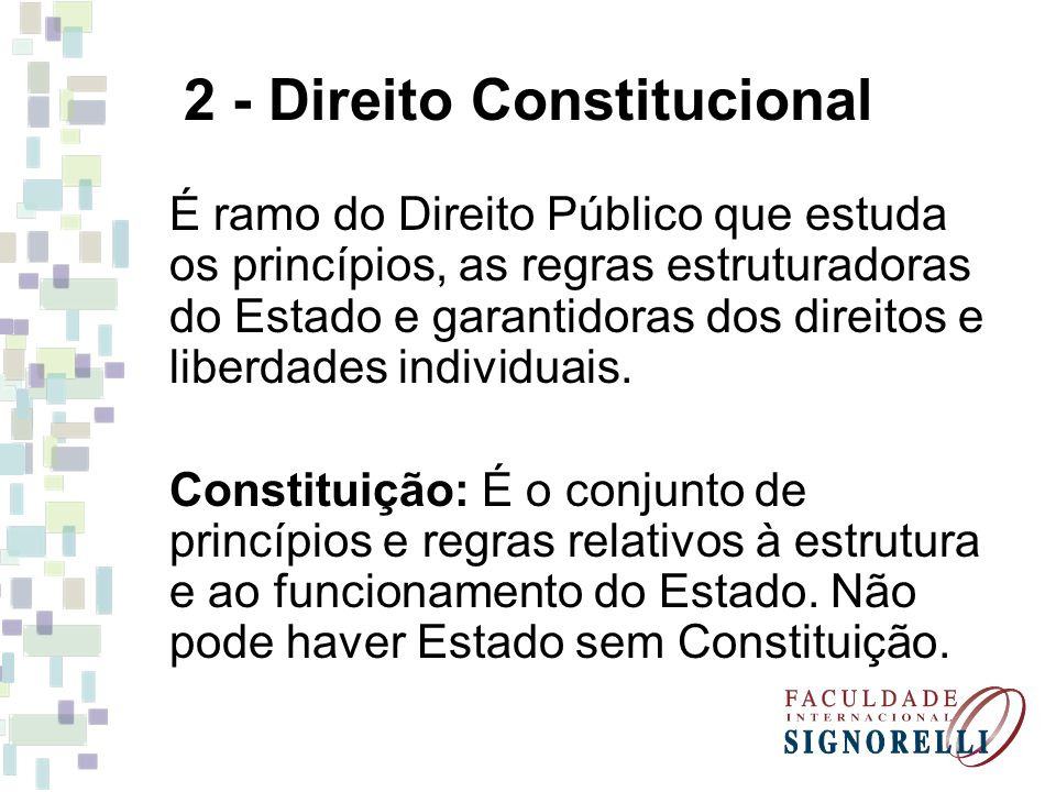 2 - Direito Constitucional
