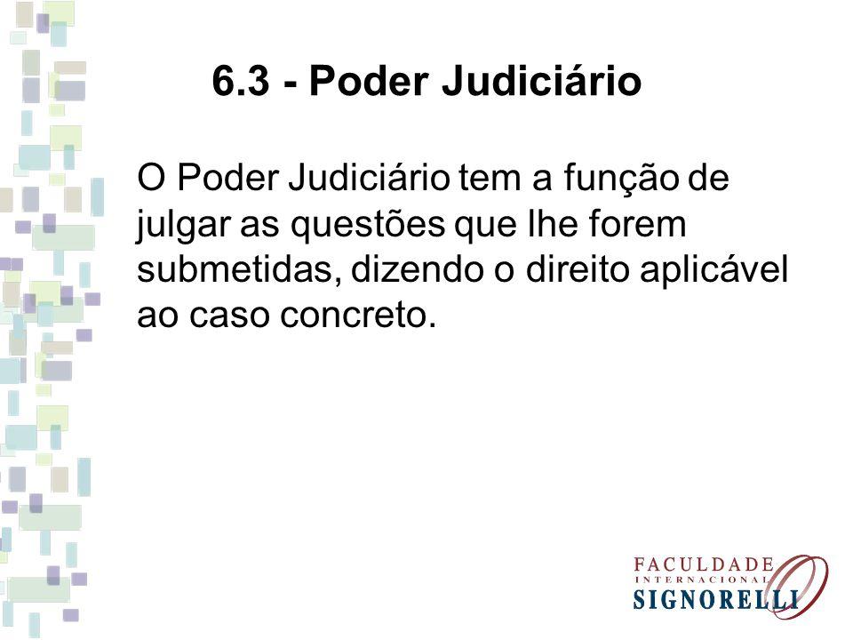 6.3 - Poder Judiciário