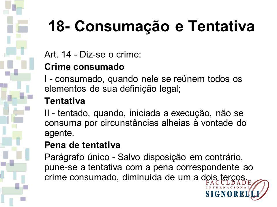 18- Consumação e Tentativa