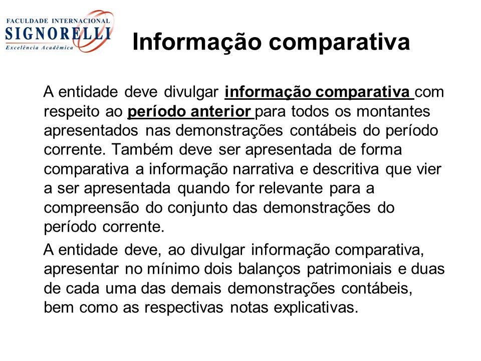 Informação comparativa