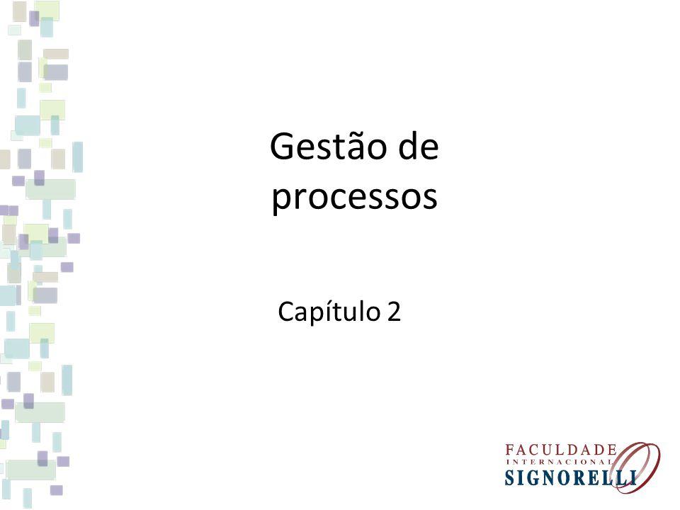 Gestão de processos Capítulo 2