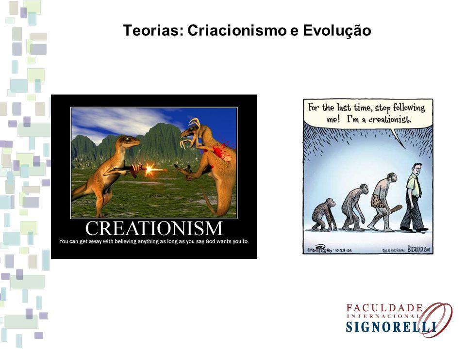 Teorias: Criacionismo e Evolução