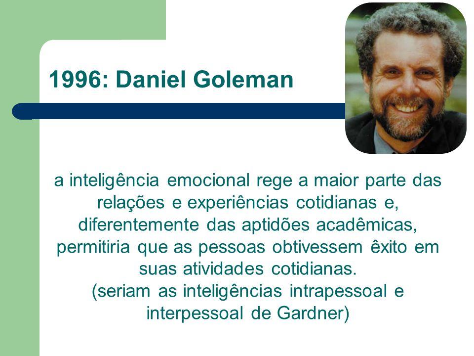 1996: Daniel Goleman