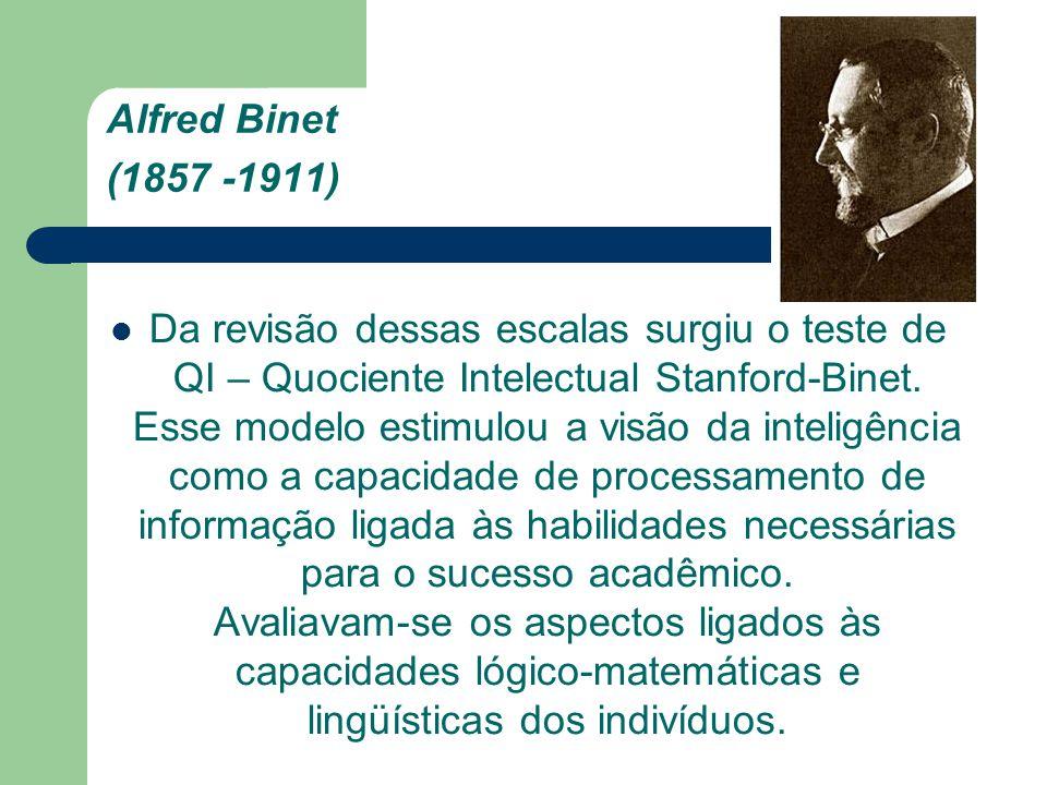 Alfred Binet (1857 -1911)