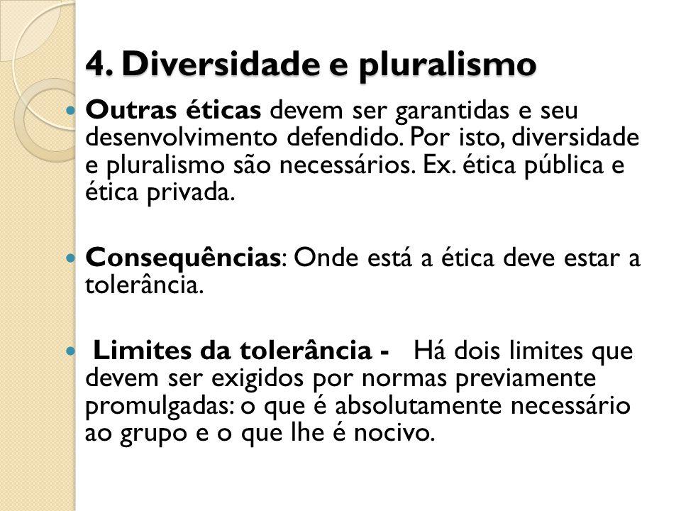 4. Diversidade e pluralismo