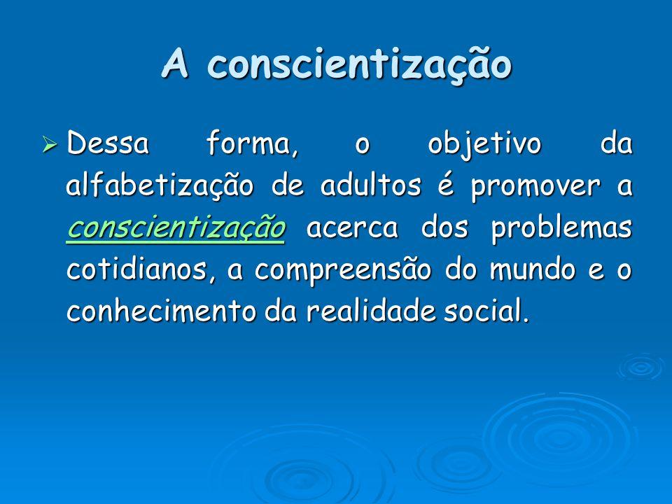 A conscientização