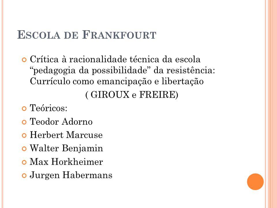 Escola de Frankfourt