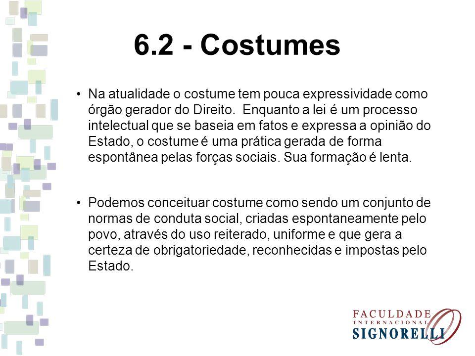 6.2 - Costumes