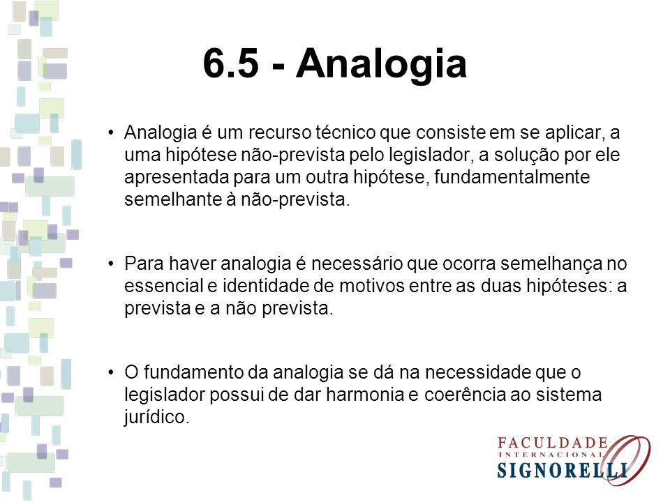6.5 - Analogia