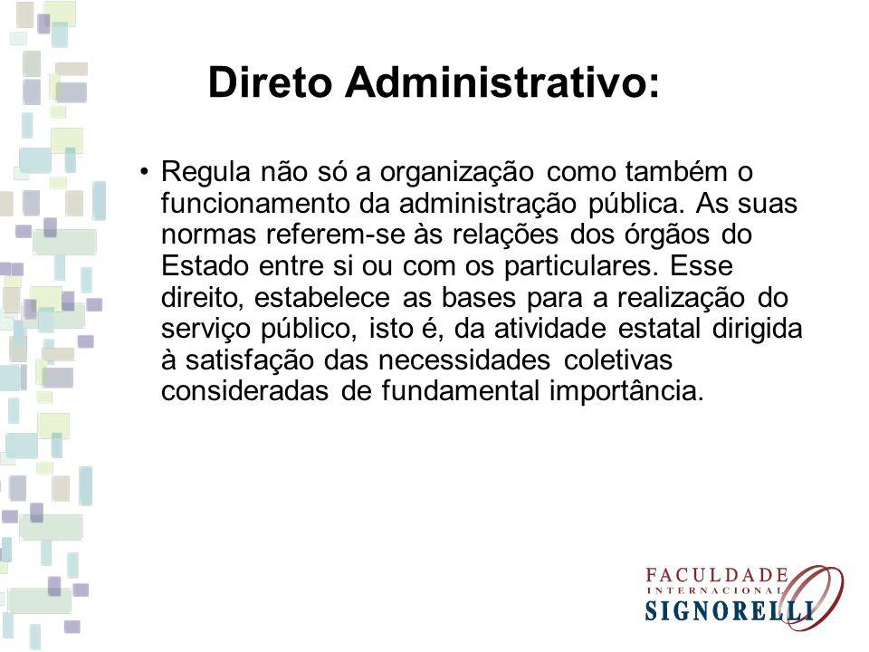 Direto Administrativo: