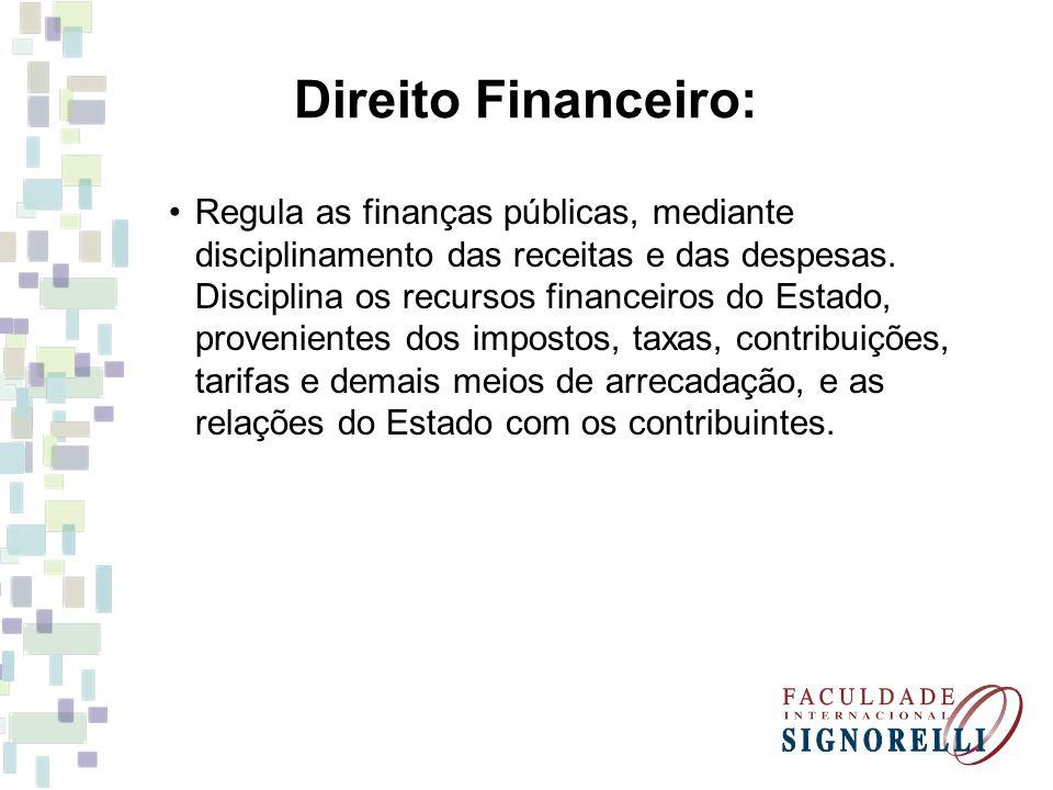 Direito Financeiro: