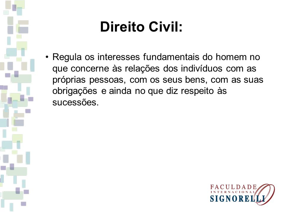 Direito Civil: