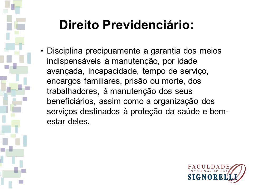Direito Previdenciário: