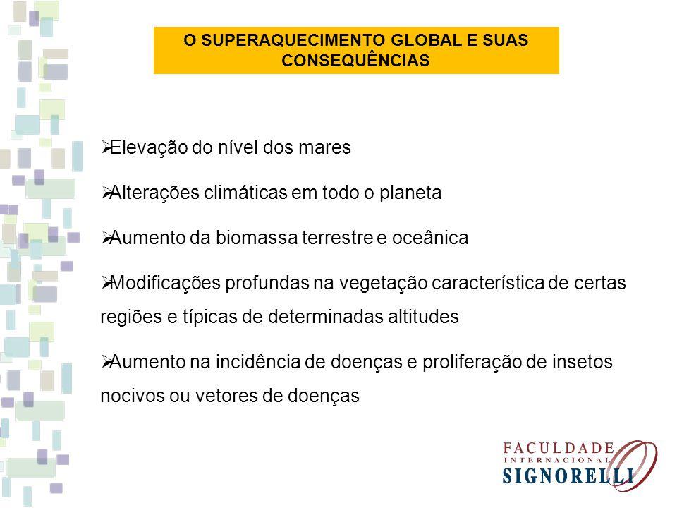 O SUPERAQUECIMENTO GLOBAL E SUAS CONSEQUÊNCIAS