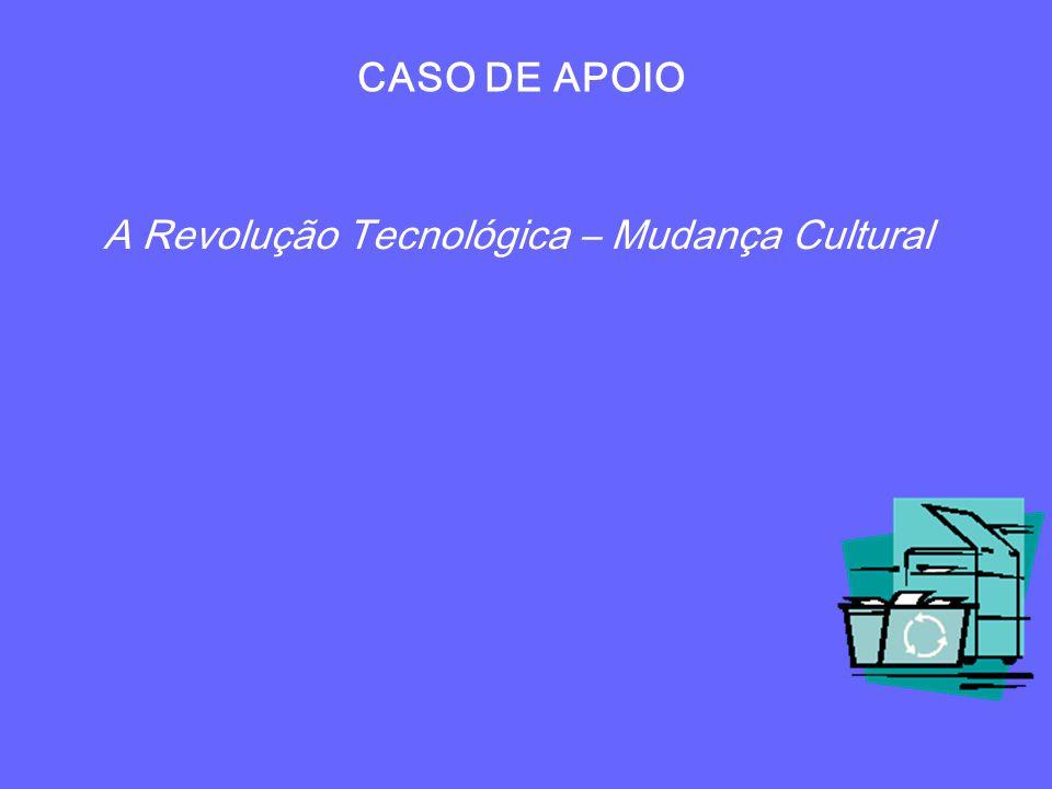 A Revolução Tecnológica – Mudança Cultural