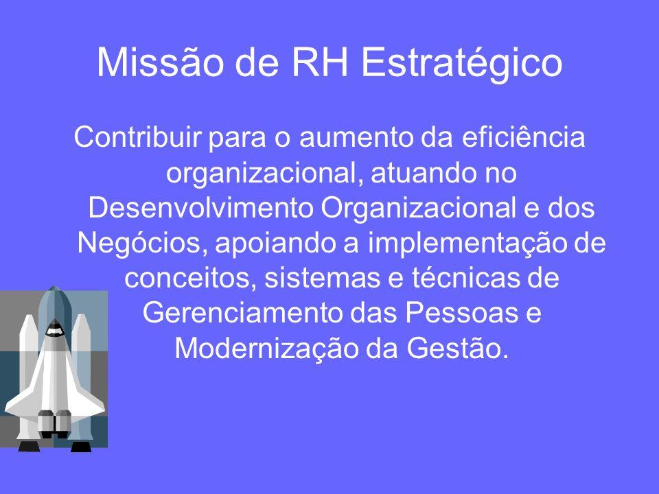 Missão de RH Estratégico