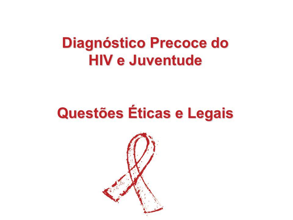 Diagnóstico Precoce do Questões Éticas e Legais
