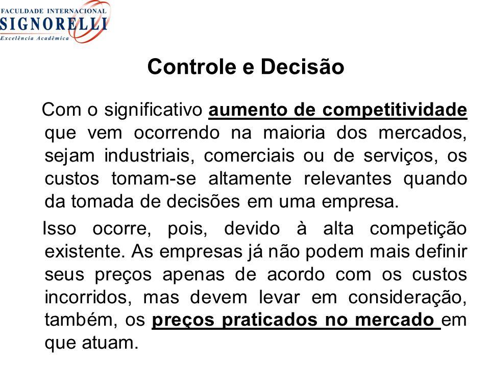 Controle e Decisão