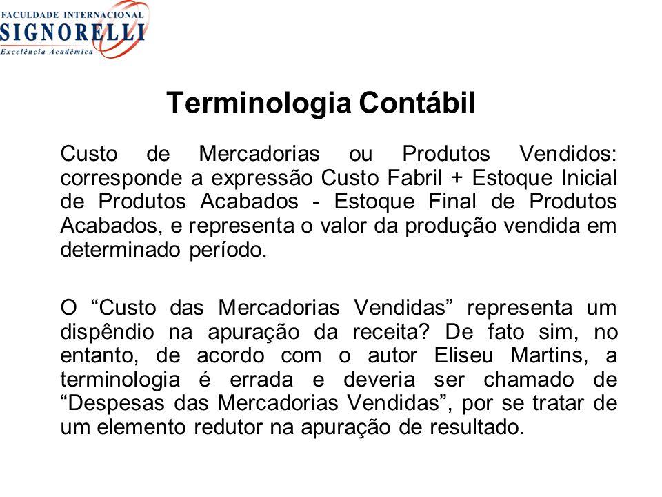 Terminologia Contábil