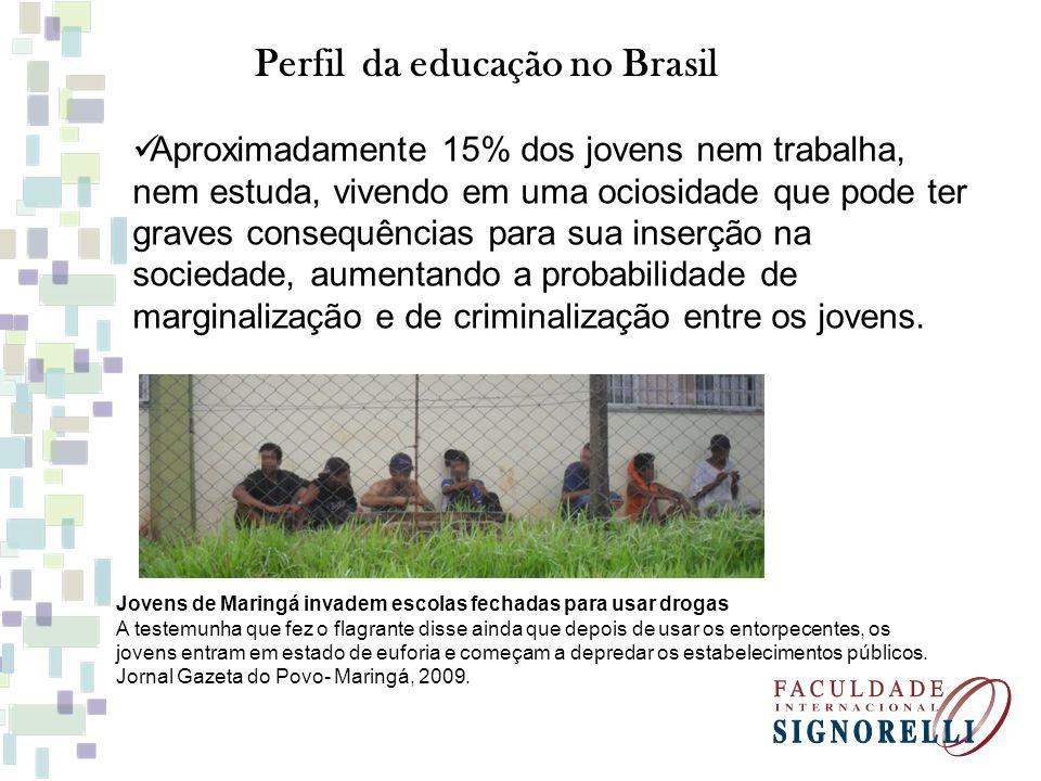 Perfil da educação no Brasil