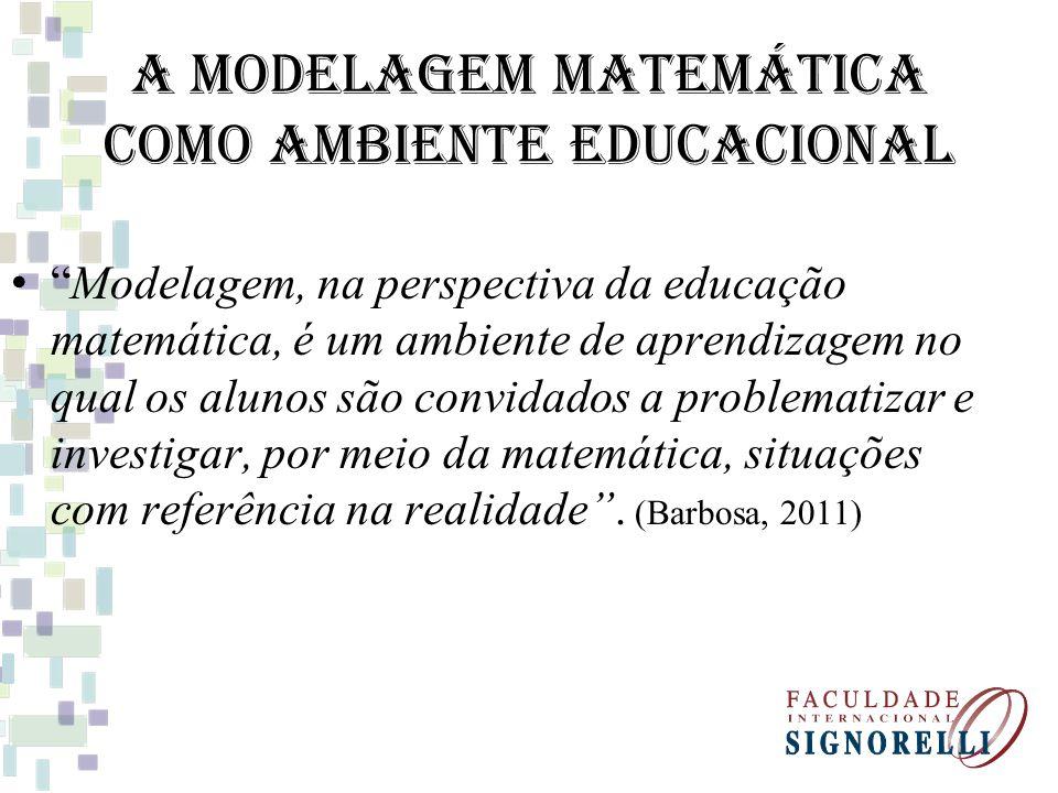 A Modelagem Matemática como Ambiente Educacional