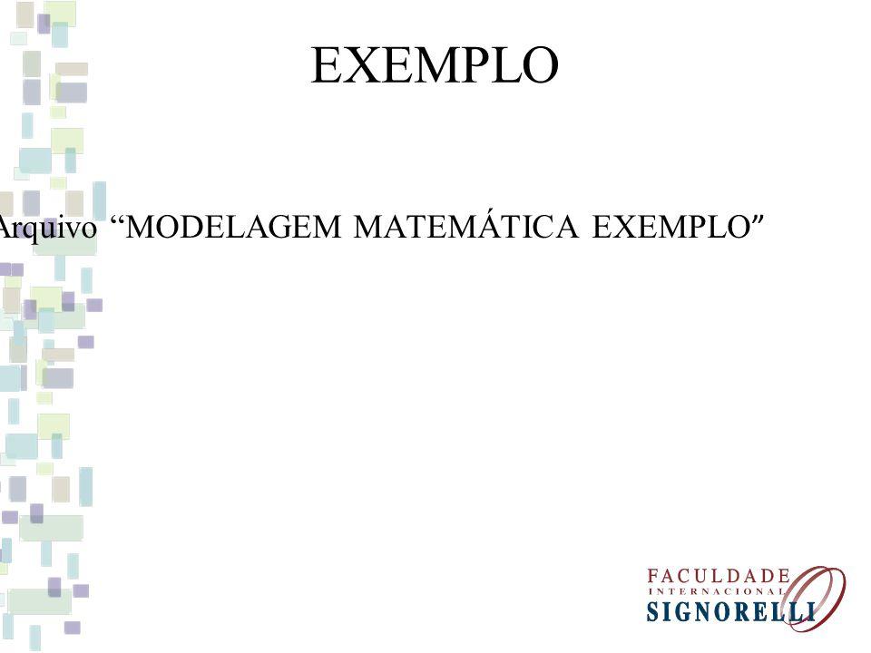 EXEMPLO Arquivo MODELAGEM MATEMÁTICA EXEMPLO