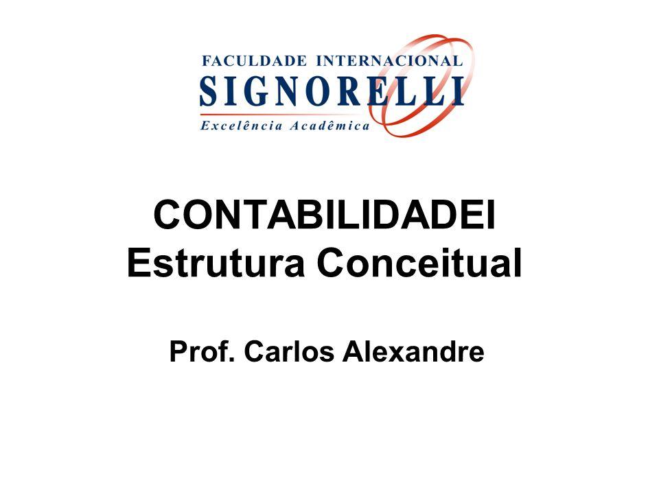 CONTABILIDADEI Estrutura Conceitual