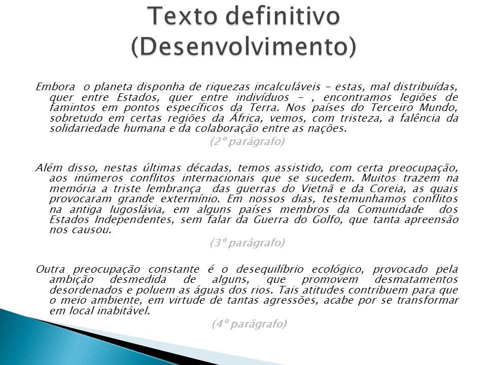 Texto definitivo (Desenvolvimento)