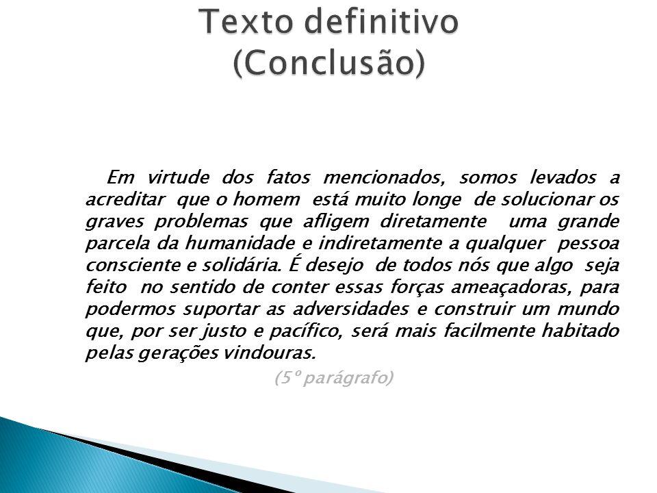 Texto definitivo (Conclusão)