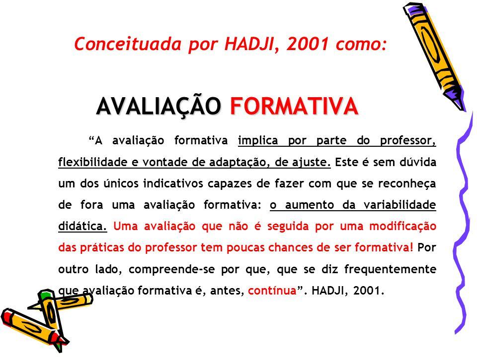 Conceituada por HADJI, 2001 como: