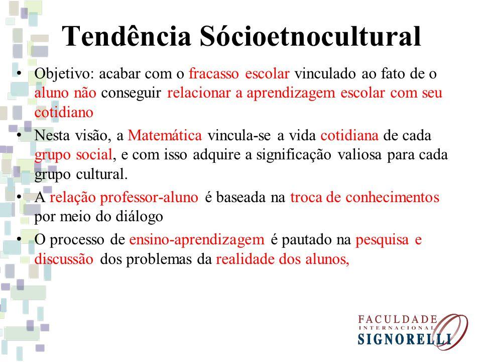 Tendência Sócioetnocultural