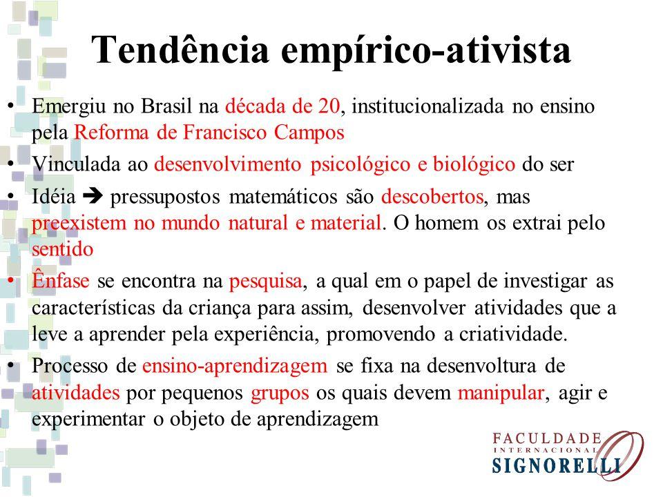 Tendência empírico-ativista