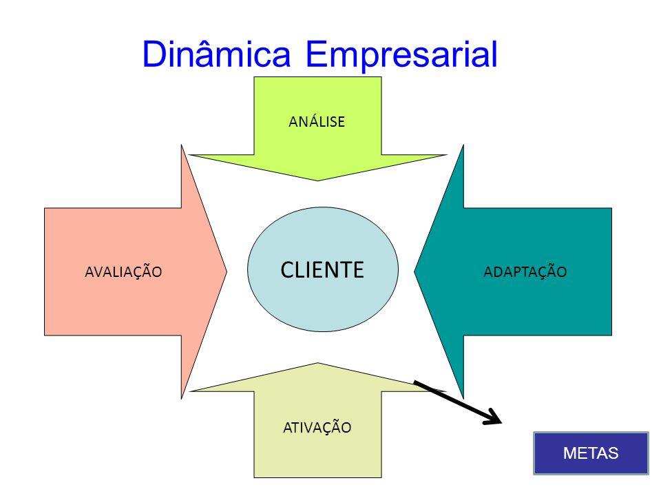 Dinâmica Empresarial CLIENTE ANÁLISE AVALIAÇÃO ADAPTAÇÃO ATIVAÇÃO