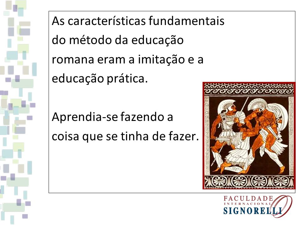 As características fundamentais