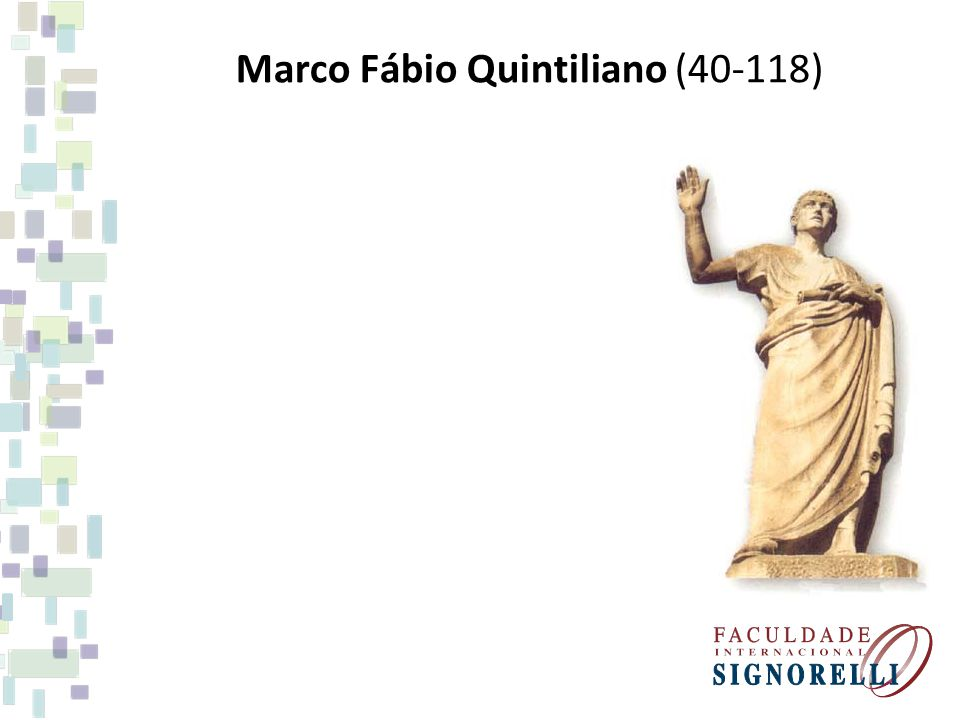 Marco Fábio Quintiliano (40-118)