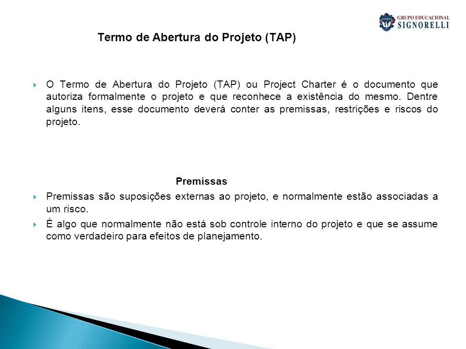 Termo Termo de Abertura do Projeto (TAP)(TAP)