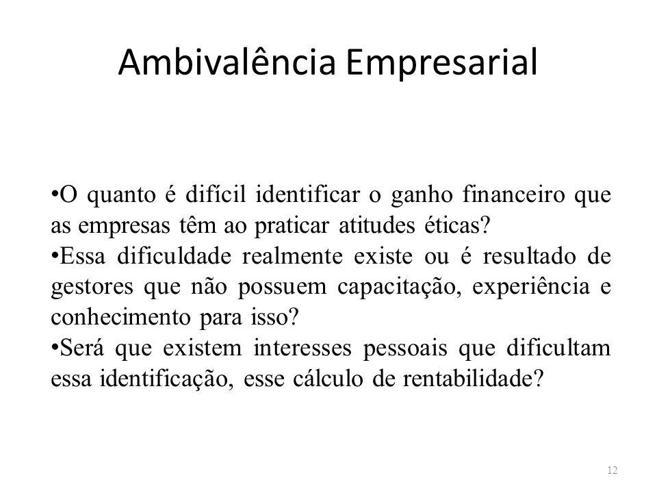 Ambivalência Empresarial
