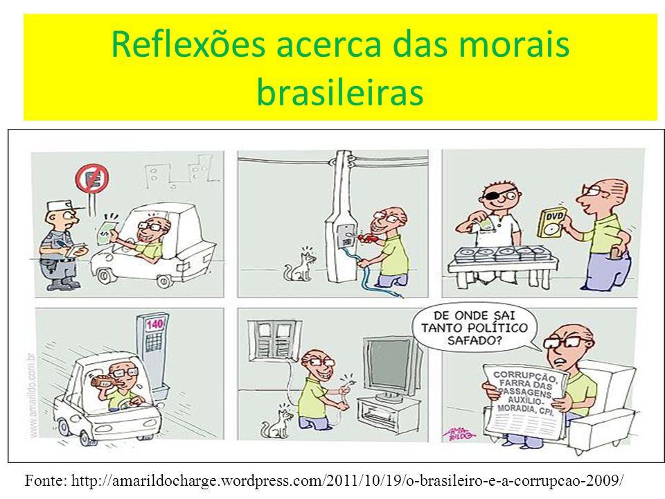 Reflexões acerca das morais brasileiras